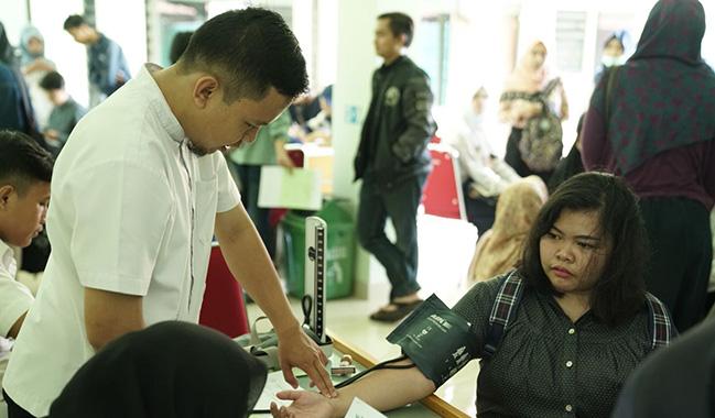 Klinik Pratama Soedirman Gelar Cek Kesehatan untuk Calon Peserta KKN Tahun 2018