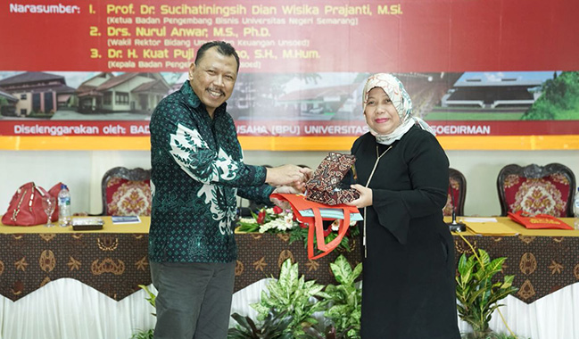 BPU Selenggarakan Workshop Optimalisasi RGU UNSOED