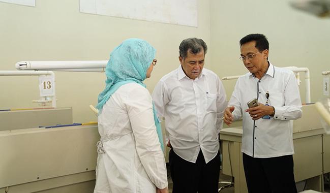 Rektor Unsoed Resmikan Klinik Pratama Soedirman