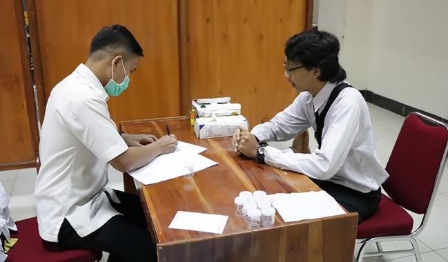 Klinik Pratama Soedirman Gelar Tes NAPZA Mahasiswa Baru UNSOED