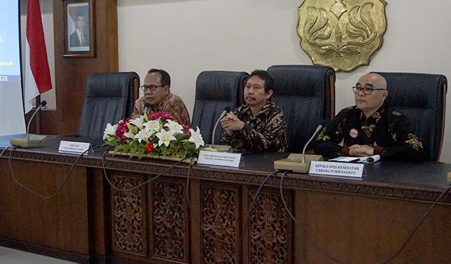 Jangkau Mahasiswa, BPJS Kesehatan Teken PKS dengan Universitas Jenderal Soedirman Purwokerto